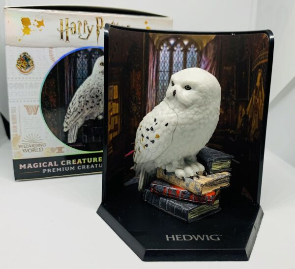 Harry Potter Magical Creatures Mystery Cube Box Hedwig The Noble Collection