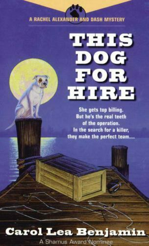 This Dog for Hire by Carol Lea Benjamin $4.09