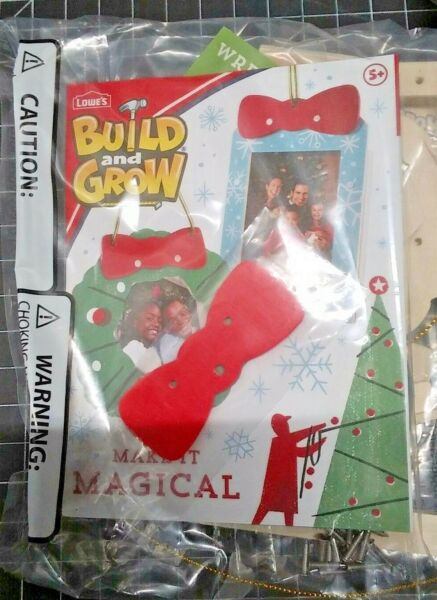 Lowes DIY Build and Grow Workshop Wood Kits 3 package lot Free Shipping $19.99