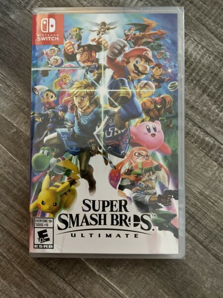 Super Smash Bros. Ultimate - Nintendo Switch Game - Brand New Sealed