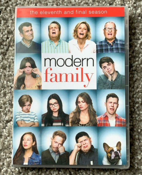Modern Family Complete Season 11 DVD 3 Disc Set Free Shipping New amp; Sealed US