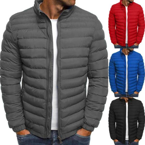Packable Light Mens Down Puffer Jacket Bubble Winter Coat Quilted Padded Outwear $30.11