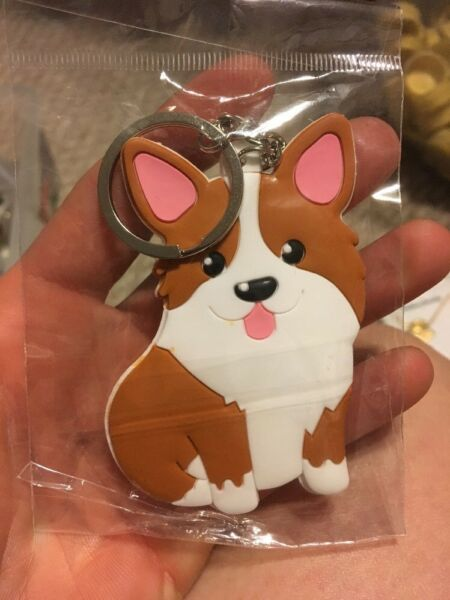 New Pembroke Welsh Corgi Dog Keychain $9.99