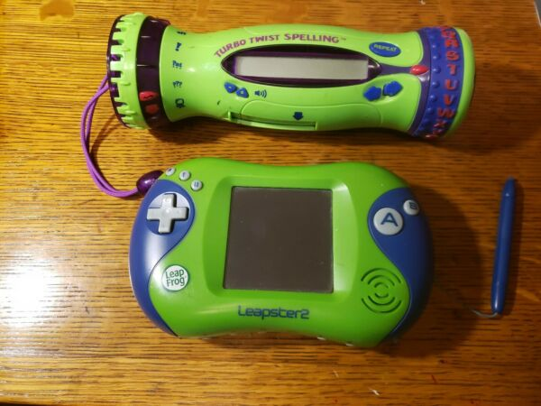 Leap frog Leapster 2 Learning Game System Console Turbo Twist Spelling  $9.99
