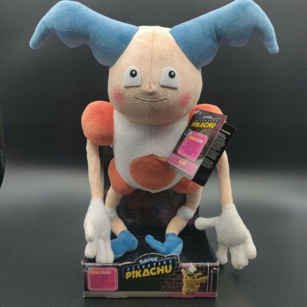 Pokemon Mr. Mime Poseable Plush Figure From The Detective Pikachu Movie NEW ! $9.99