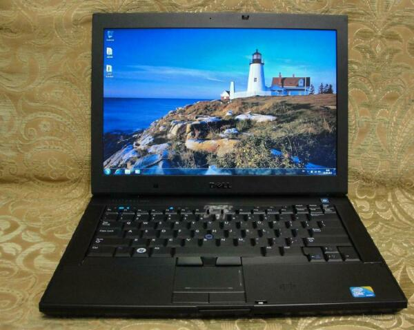 Dell Laptop Duo Windows 7 Pro Intel 2.4 160GB 4 GB1 yr Warranty