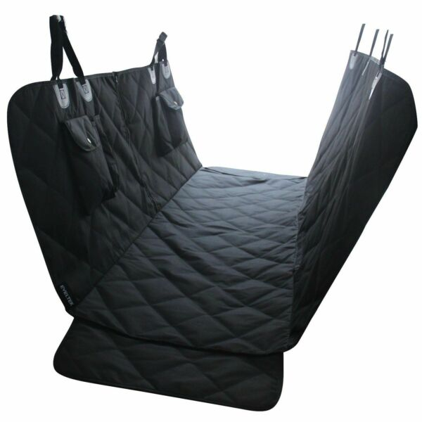 Pet Hammock Car Seat Cover SUV Rear Bench Protection Waterproof 2 StoragePockets $28.99