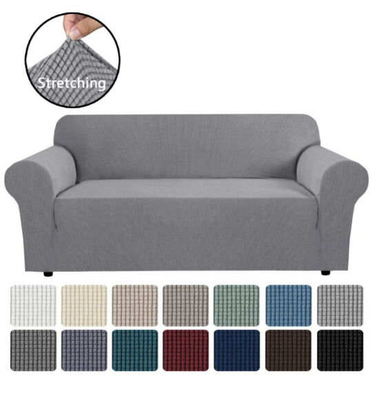 H.VERSAILTEX Stretch Sofa Covers Couch Cover Furniture Protector Sofa Slipcover $32.99