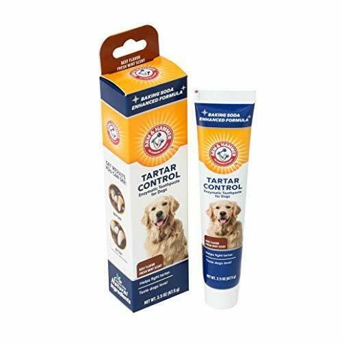 Arm amp; Hammer Dog Dental Care Toothpaste for Dogs Safe for Puppies 1 Pack $8.95