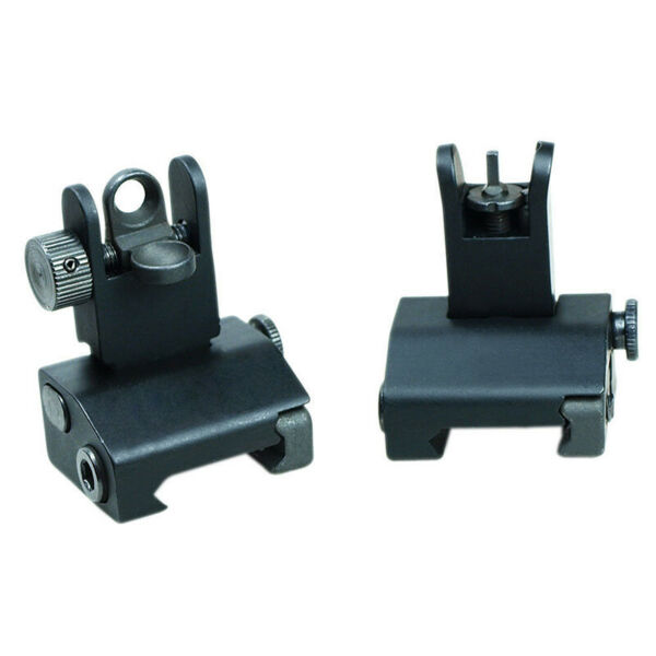 PSD Micro Flip Up Rapid Transition Front and Rear Iron Sight Set