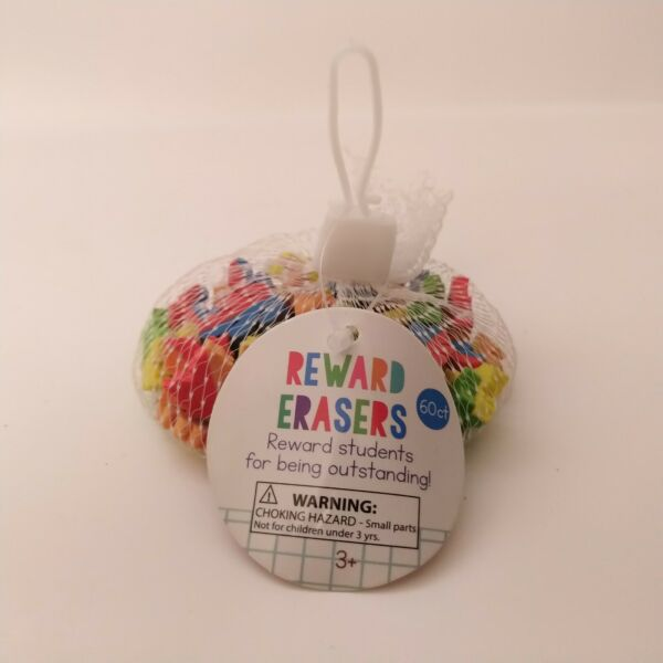 60 Fall Leaves Erasers Sorting Math Counter Rewards $6.99