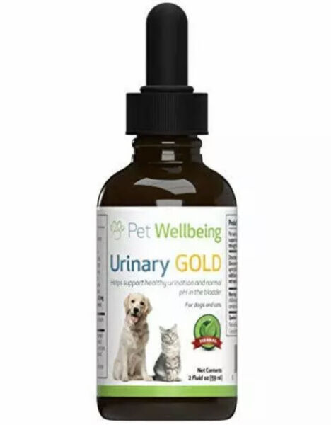 Pet Wellbeing Urinary Gold Natural Support Dog For UTI Tract $41.99
