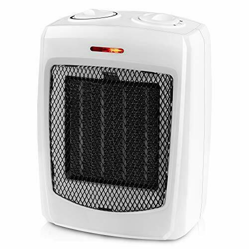 andily Space Heater Electric Heater for Home and Office Ceramic Small Heater wit $24.42