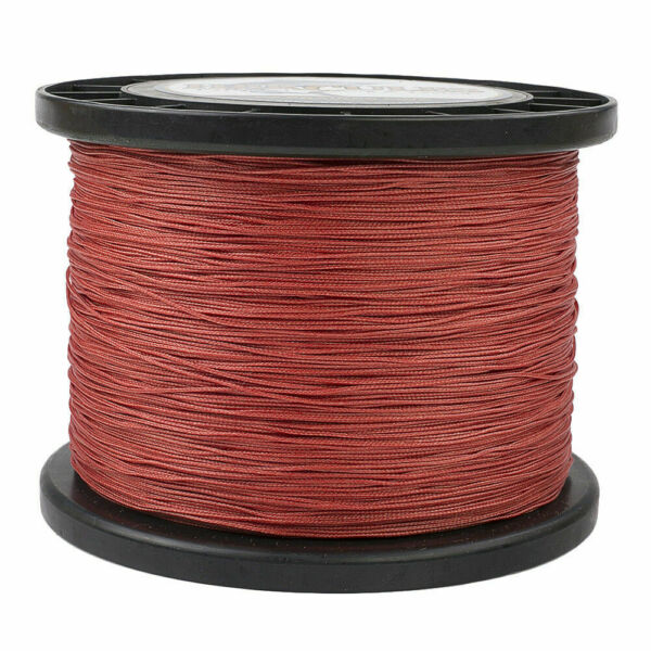 Hercules 1094 Yards 8 Strands Extreme Weave 10 300lb Red PE Braided Fishing Line