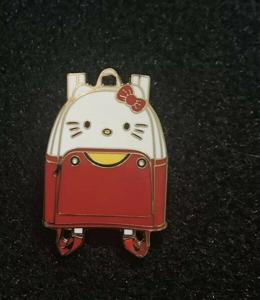 Loungefly Hello Sanrio Kitty Mini Backpack Series In Pin Of Hello Kitty In Hand