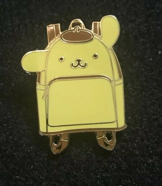 Loungefly Hello Sanrio Kitty Mini Backpack Series In Pin Of Pompompurin In Hand