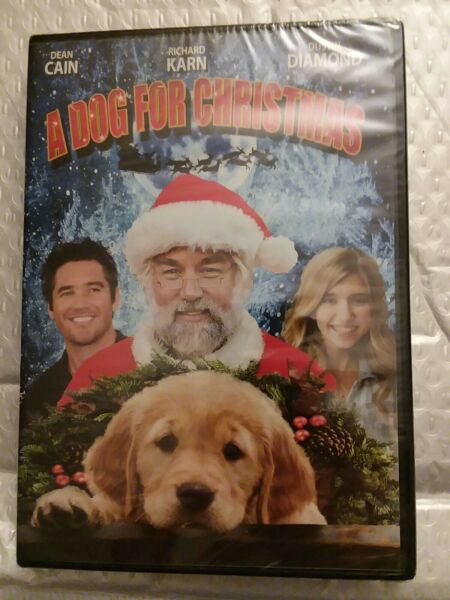 A Dog for Christmas DVD 2015 $2.79