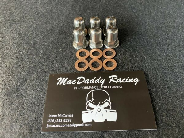MacDaddy Racing Honda TRX250R TITANIUM Head Nuts