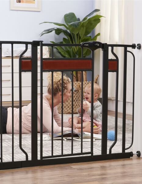 Retractable Baby Gate Stairs Door Child 30 42quot; Dog Safety First Long Tall Wide $57.16