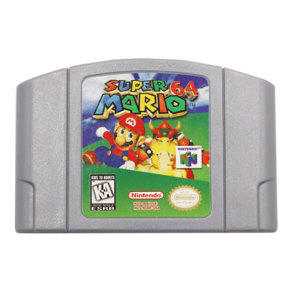 Super Mario 64 Video Game Cartridge Console Card US Version For Nintendo 64 N64 $23.88