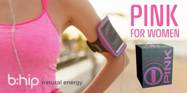 BHIP PINK for Women I PNK Energy Drink All Natural for Mind and Body Support $69.00