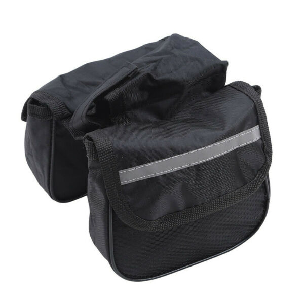 No Standard Vehicle Pouch Bicycle Bags Zipper 1pc Saddle Bags Front Beam Bag N3 $7.63