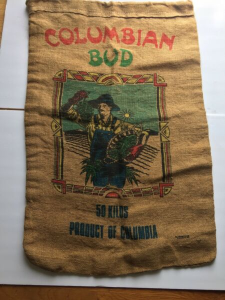 MARIJUANA BURLAP BAG