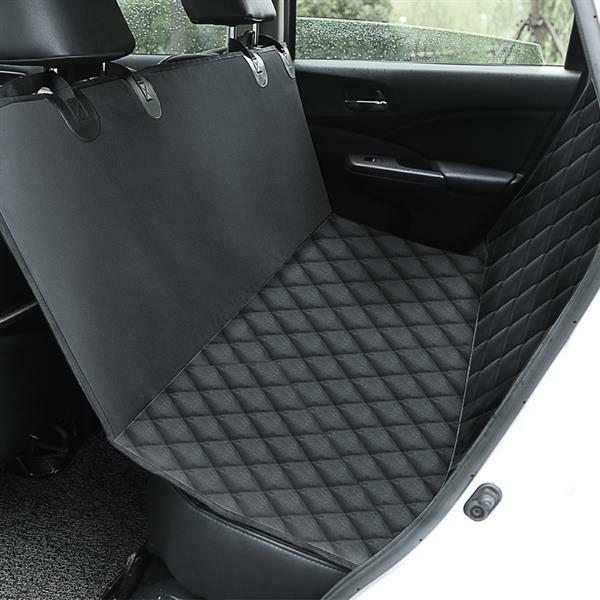 100% Waterproof Pet Dog Seat Cover Rear Back Travel Protector for Car Truck SUV $28.99