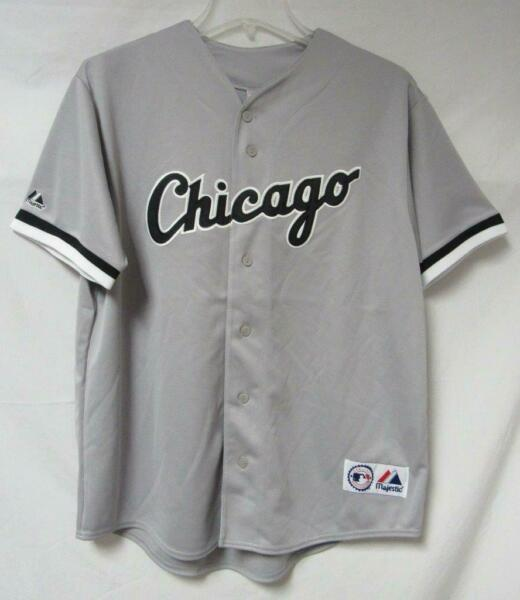 Chicago White Sox Mens Size Large or X Large Button Front Jersey