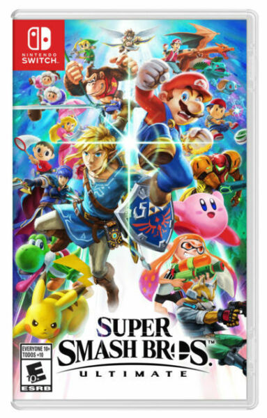 Nintendo Switch Super Smash Bros. Ultimate Brand New Free Shipping