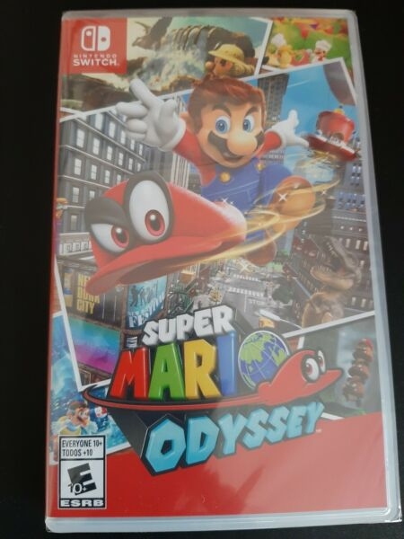 Super Mario Odyssey Nintendo Switch New Factory Sealed