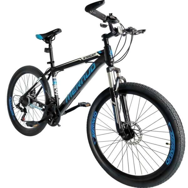 Folding Mountain Bike 26quot; Full Suspension Bicycle 21 Speed MTB Mens bikes $205.99