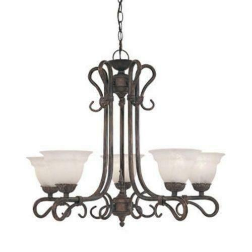 Designers Fountain Lighting 5665 MP Sevilla Collection Five Light Chandelier