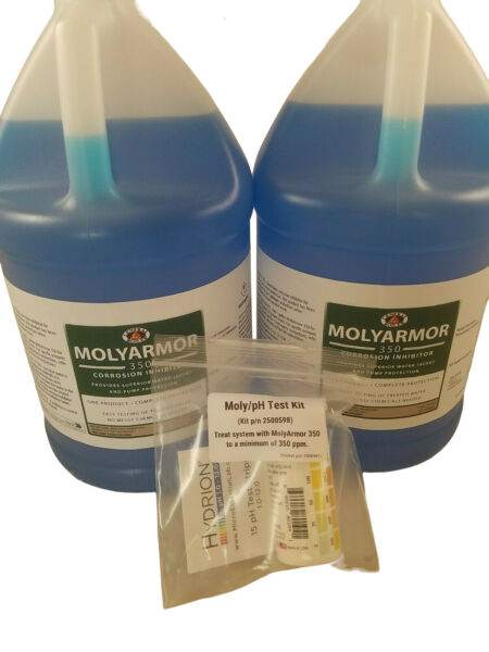 Central Boiler MolyAmor 350 Corrosion Inhibitor 2 Gallons AND Test Kit $113.95