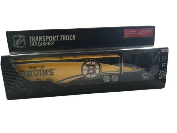 NHL Top Dog Tractor Trailer Transport Car Carrier 1:64 Scale Diecast Metal Body $20.95