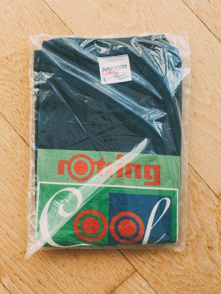 Rotring Pen Brand Promo 90s Vintage T Shirt Collectors Promo Tee