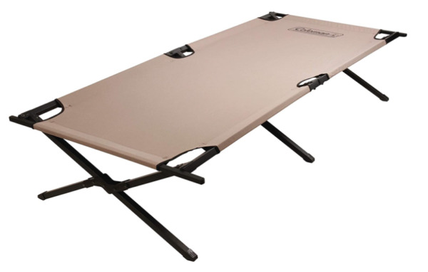 Coleman Trailhead II Cot 73 x 35 inch Military Camping Cot Up to 300 pounds