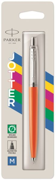 Parker Jotter Ballpoint Pen Orange New In Pack 2076054 Original