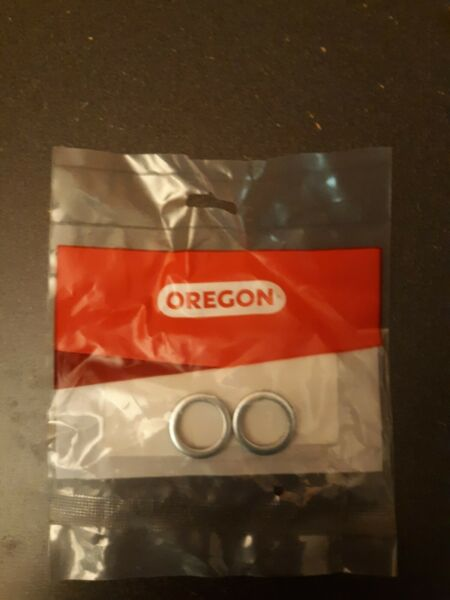 2 pk Oregon 09 260 187690 129963 532187690 Spindle Washer Craftsman Poulan Husq