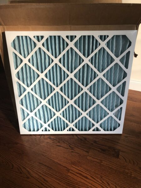 Geothermal Air Filters: 6 MERV 11 Pleated Air Filter $75.00