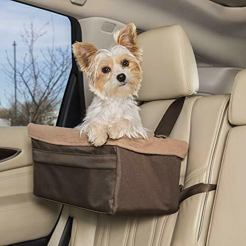PetSafe Happy Ride Booster Seat Dog Booster Seat for Cars Trucks and SUVs $14.99
