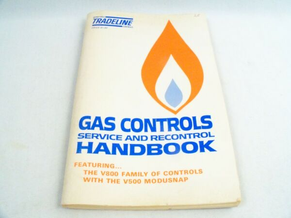 Vintage Honeywell Controls Tradeline Gas Controls Service And Recontrol Handbook $10.80
