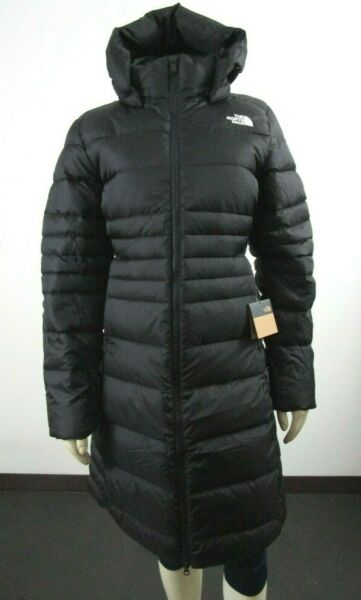 NWT Womens The North Face TNF Metropolis 2 Parka Long Down Warm Jacket Black $212.46