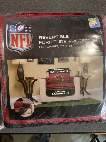 "Arizona Cardinals NFL Reversible Furniture Protector For Recliner 75""x65"" $18.00"