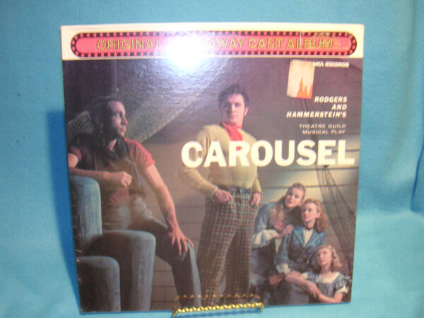 Carousel Rodgers amp; Hammerstein#x27;s Theatrical Guild Musical Play Orig Cast Sealed