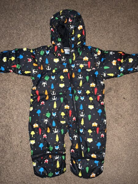 Columbia Baby Snuggly Bunny Insulated Water Resistant Bunting Snowsuit 12 18 mo