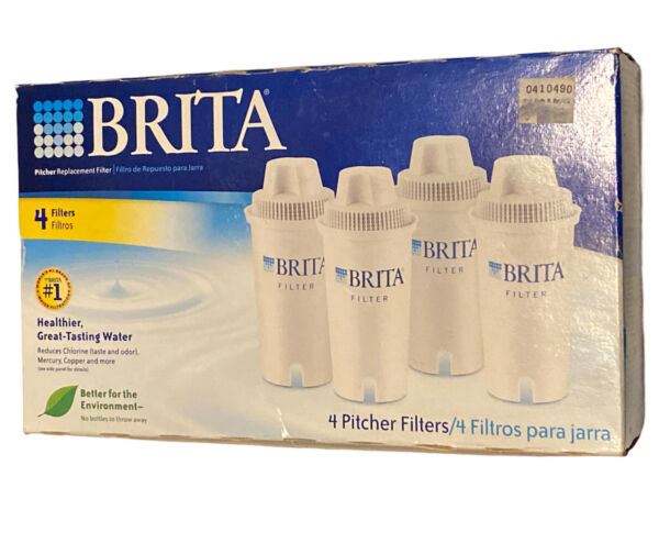 Brita Pitcher Replacement FIlters 4 Pack