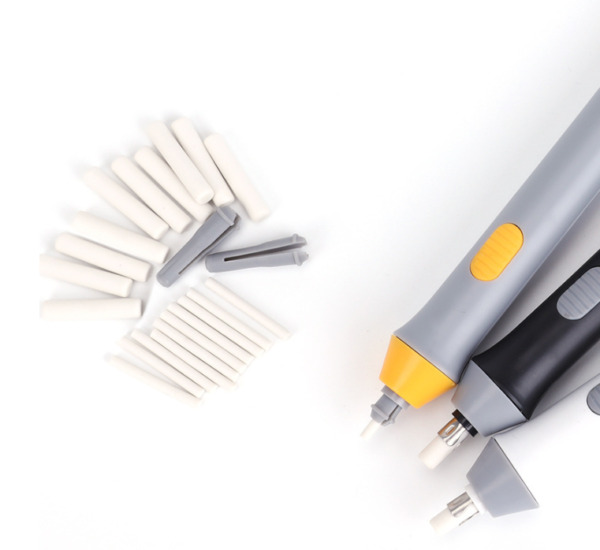 Electric Automatic Eraser Kit Automatic Pencil Eraser with 22 Rubbers US STOCK $6.99
