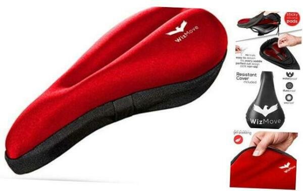 Gel Bike Seat Cover Bike Seat Cushion for Most Comfortable Seat Bicycle Seat $24.63