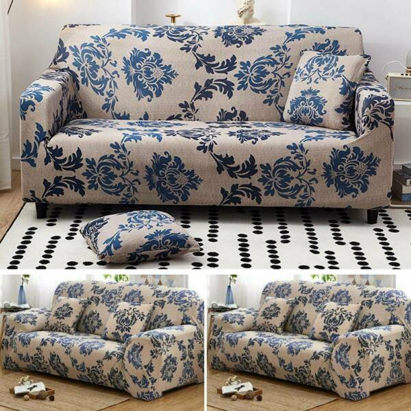 2 3 Seater Sofa Covers Slipcover Elastic Stretch Settee Couch Protector Covers $34.10